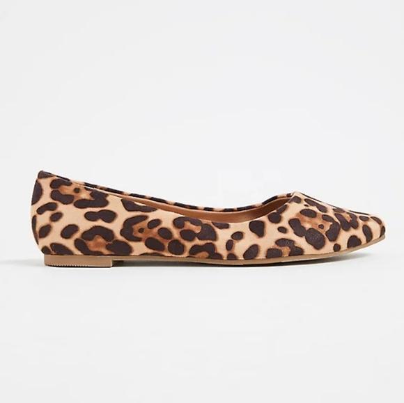 Wide Width Leopard Print Flats | Poshmark